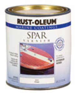 Rust-Oleum  Gloss  Clear  Marine Spar Varnish  1 qt.