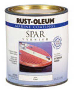Rust-Oleum  Clear  Marine Spar Varnish  1 qt. Gloss