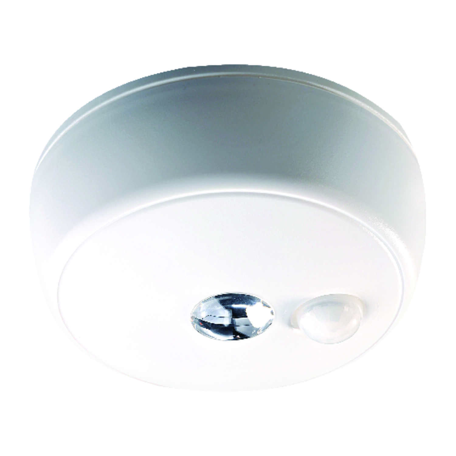 Mr. Beams  Metal  Battery Powered  Ceiling Light  Motion-Sensing  White