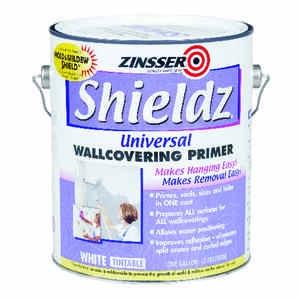 Zinsser  Shieldz Universal  White  Wallcovering Primer  For Drywall 1 gal.