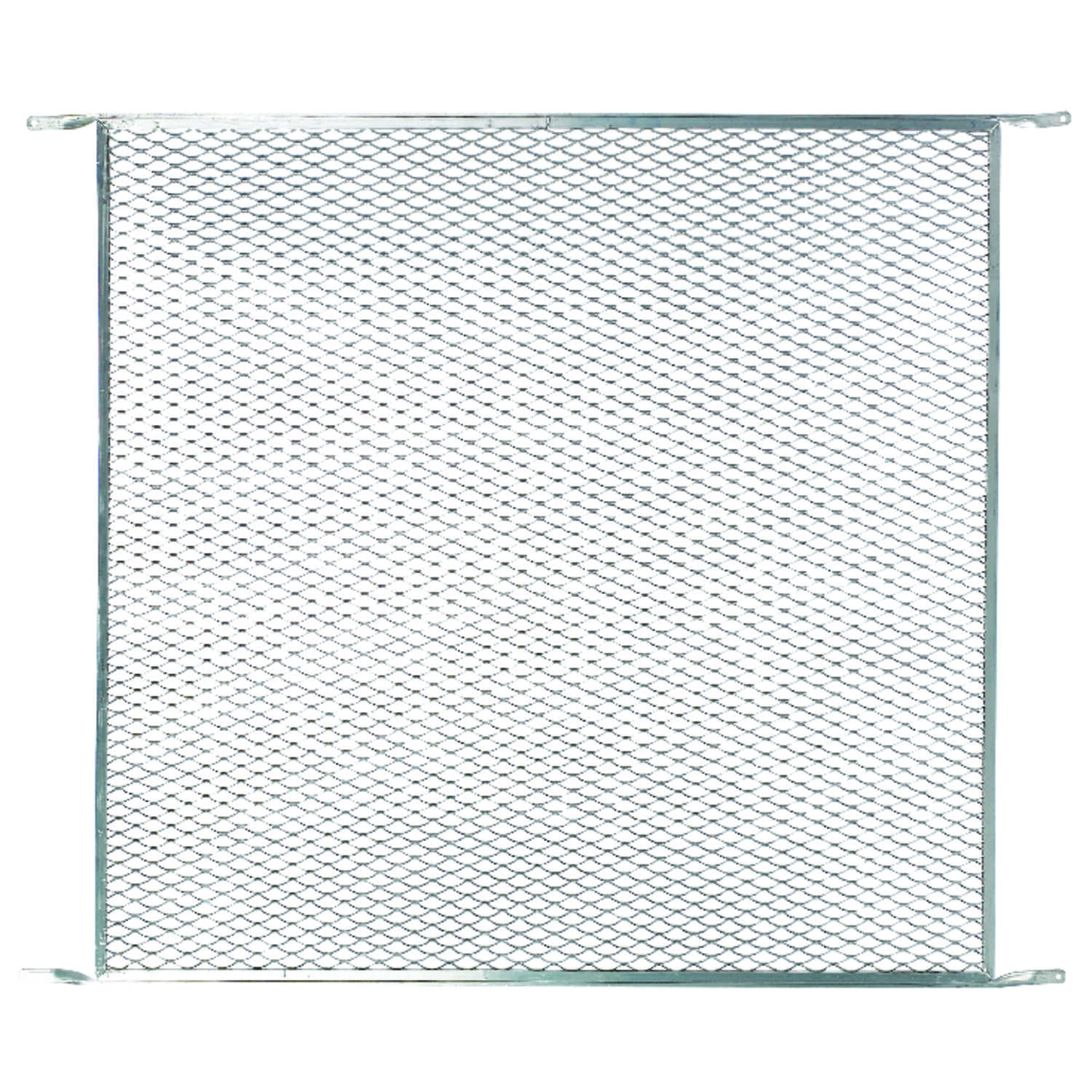 M-D Building Products  Satin  Silver  Aluminum  Door Grille  1 pc.