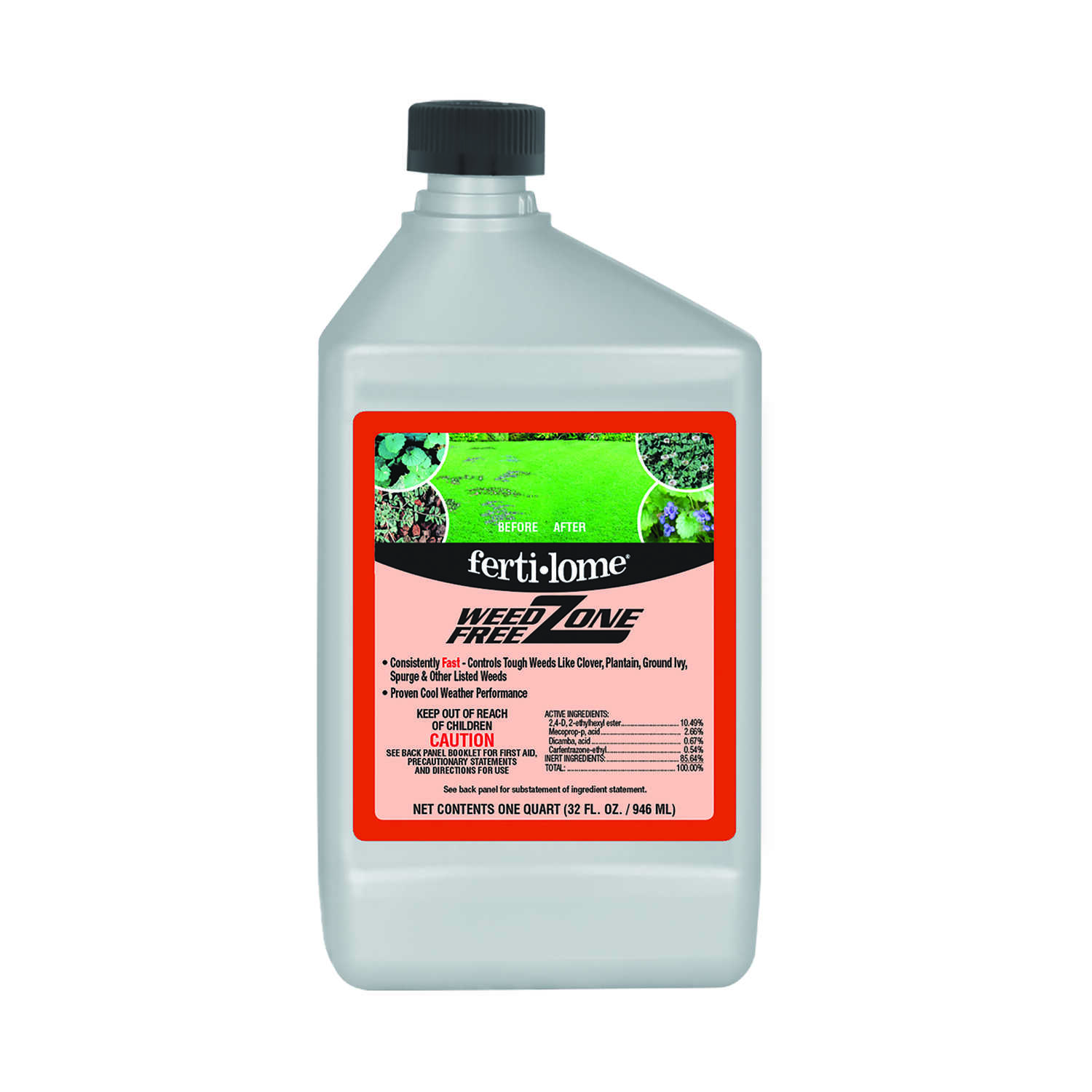 Ferti-Lome  Ready-To-Use  Concentrate  Weed Free Zone  32 oz.