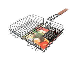 Charcoal Companion  Grill Basket  Steel