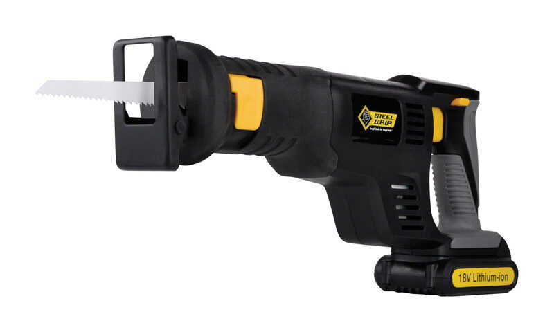 Steel Grip  3/4 in. Cordless  Reciprocating Saw  18 volt 2800 spm