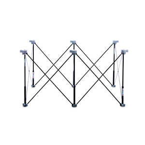 Centipede  30-1/2 in. H x 24 in. W x 48 in. D Adjustable Expandable Sawhorse  1500 lb. Black  1 pk