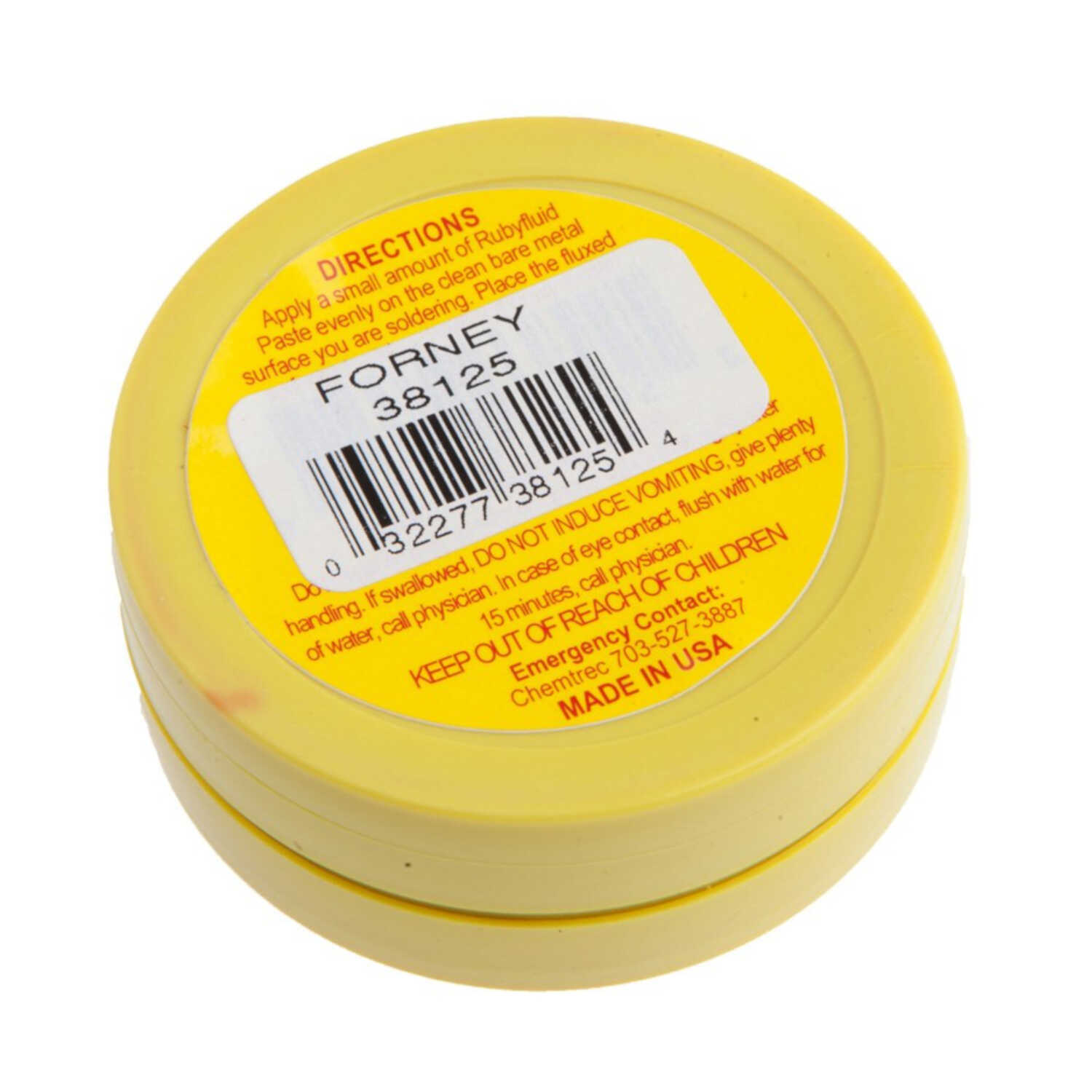 Forney  1.7 oz. Lead-Free Soldering and Tinning Paste Flux  Zinc Chloride  1 pc.
