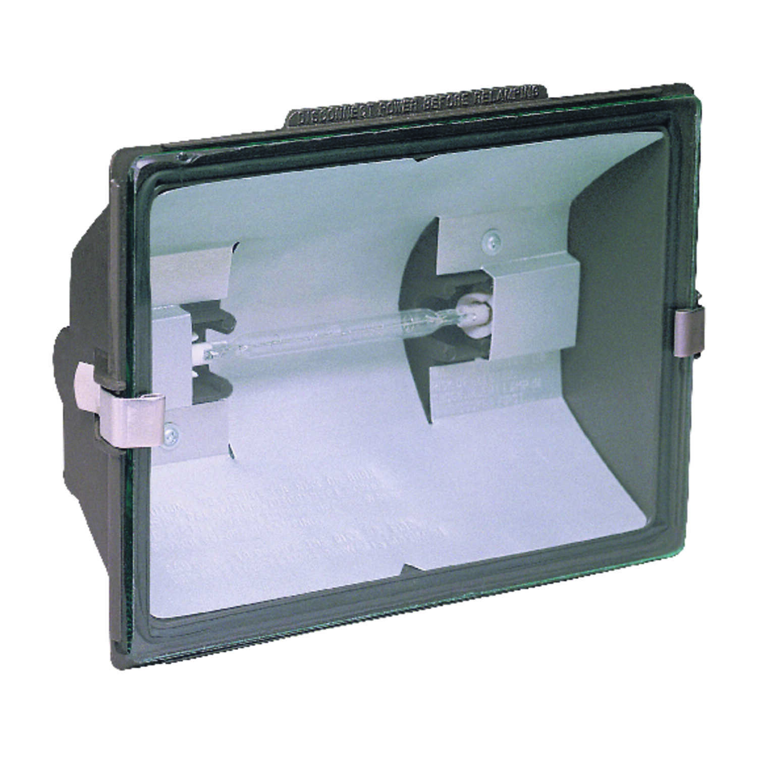 Heath Zenith  On/Off Activation  Halogen  1  Outdoor Flood Light  Electric