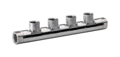 Home-Flex  1/2 in. FPT   x 1/2 in. Dia. FPT  Steel  Manifold