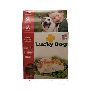Lucky Dog  Captain's Choice  Whitefish, Herring, Carrots, Peas  Dog  Grain Free Treats  1 pk
