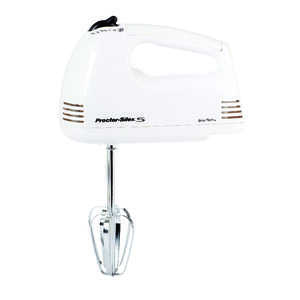 Proctor Silex  White  5 speed Hand  Mixer