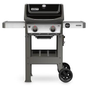 Weber Spirit Ii E 210 2 Burners Propane Grill Black 26500 Btu
