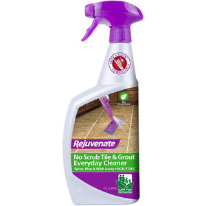 Rejuvenate  Grout and Tile Cleaner  No Scent 24 oz. Trigger Spray Bottle