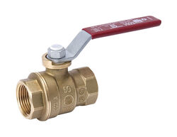 B&K  ProLine  2 in. Brass  FIP  Ball Valve  Full Port