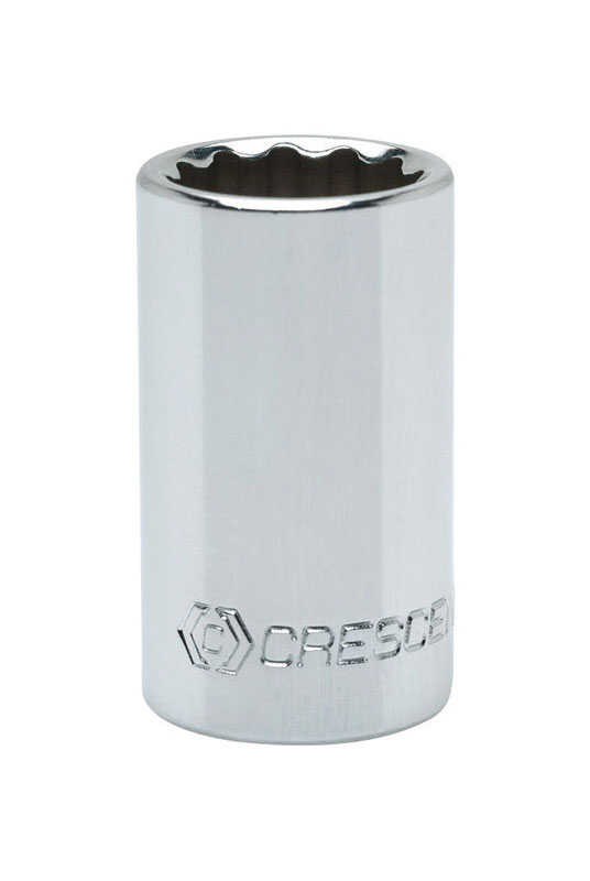 Crescent  13/16 in.  x 1/2 in. drive  SAE  12 Point Standard  Socket  1 pc.