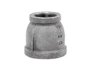 Anvil  2 in. FPT   x 1-1/2 in. Dia. FPT  Black  Malleable Iron  Reducing Coupling