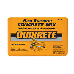 Quikrete  60 lb. Ready-to-Use Concrete Mix