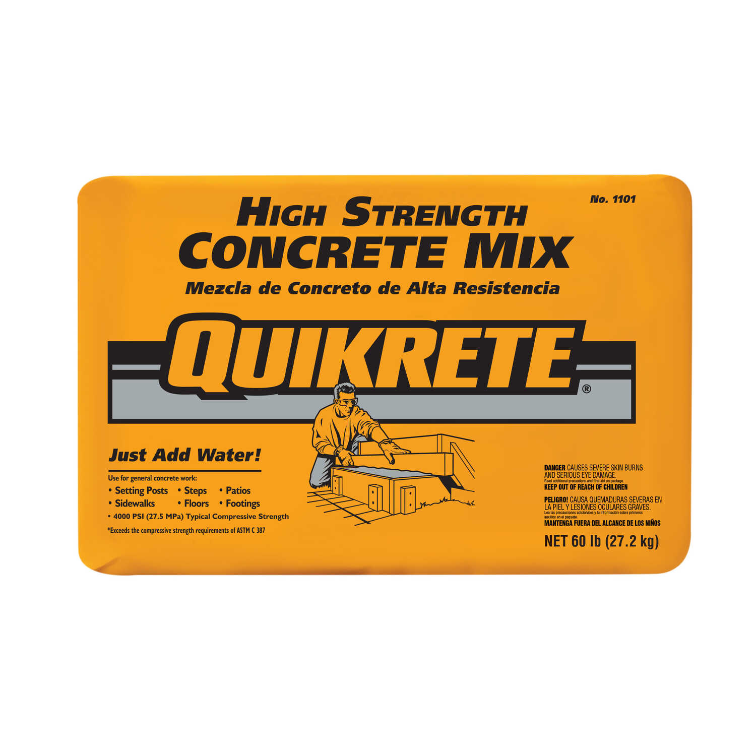 Quikrete 60 Lb Ready To Use Concrete Mix Ace Hardware