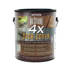 Rust-Oleum Restore 4X Deck Cover     Tint Base  1 Gallon