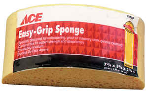 Ace  Medium Duty  Turtleback Sponge  For All Purpose 7-3/4 in. L 1 pk