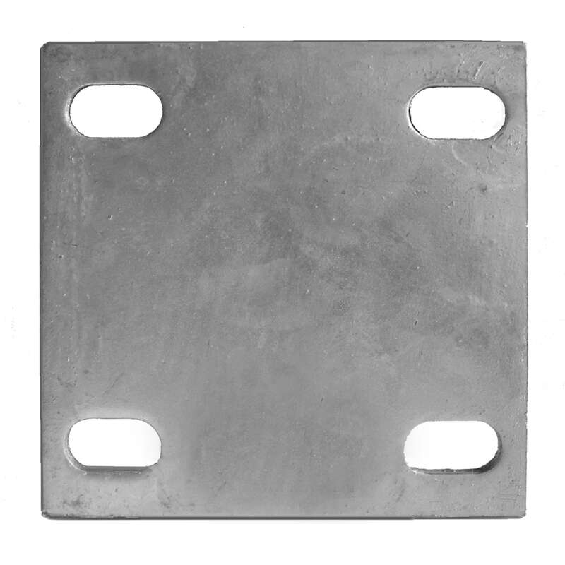 Multinautic  Silver  Galvanized Steel  Back Plate