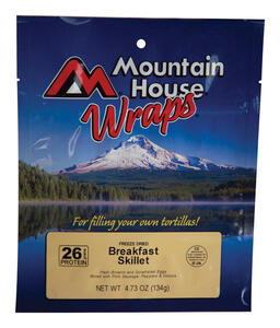 Mountain House  Eggs, Hash Browns, Sausage, Peppers, Onions  Freeze Dried Food  4.73 oz. Pouch