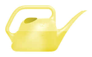 Bloem  Yellow  1.5 L Resin  Watering Can