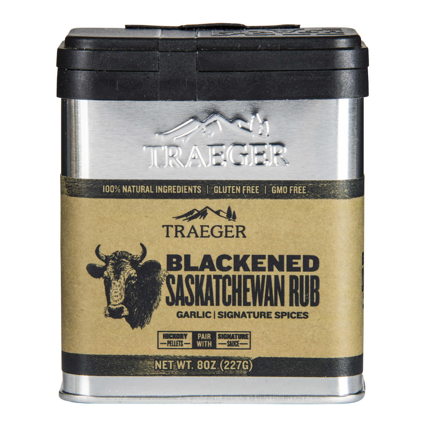 Traeger  Blackened Saskatchewan  Garlic and Spices  Seasoning Rub  8.25 oz.