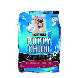 Purina  Puppy Chow  beef  Dry  Dog  Food  16.5 lb.