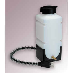 API  White  Plastic  32 oz. Heated Pet Bottle  For Small Animal