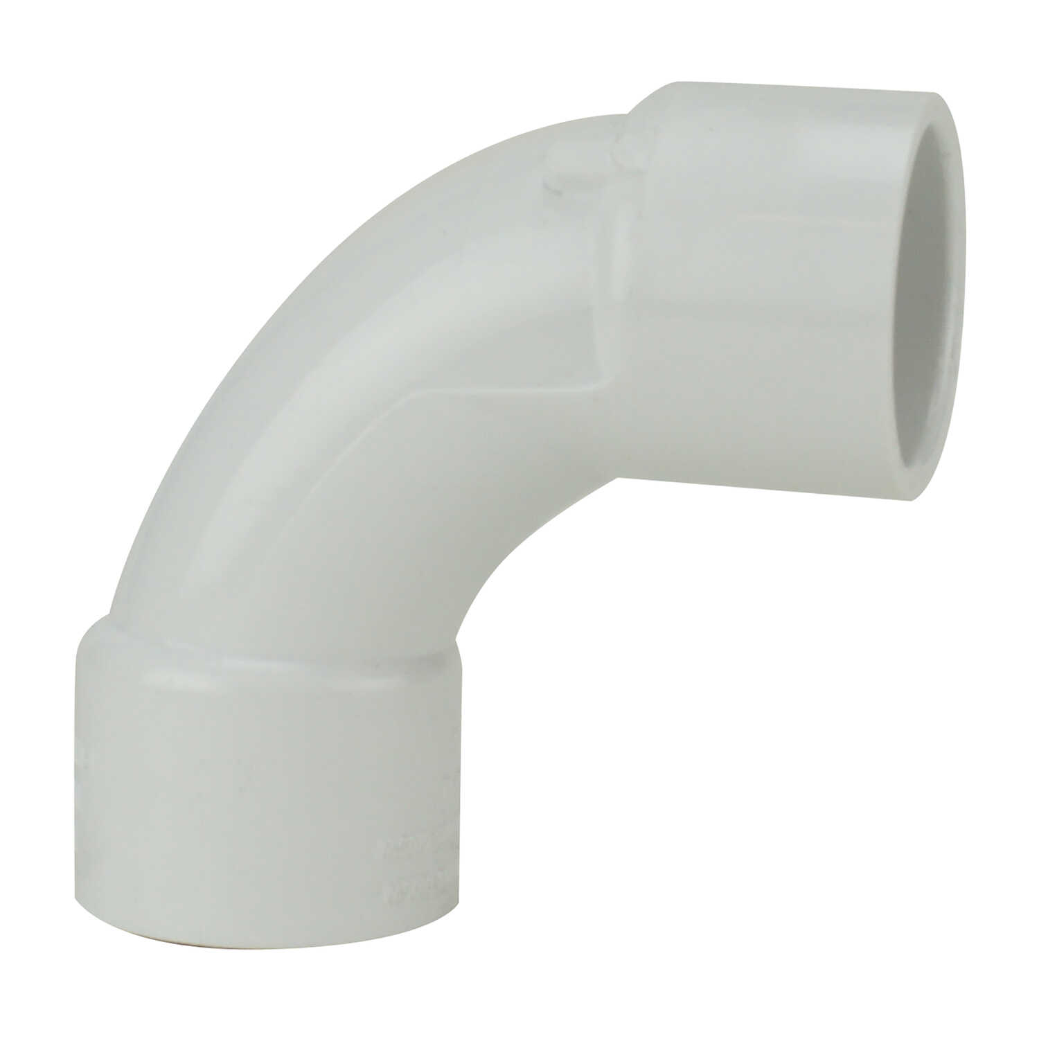 Lasco  Schedule 40  1 in. Slip   x 1 in. Dia. Slip  PVC  Elbow