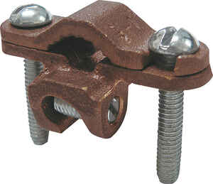 Sigma Electric ProConnex  1/2 in. Bronze  Ground Clamp with Lay-In Lug  1 pk