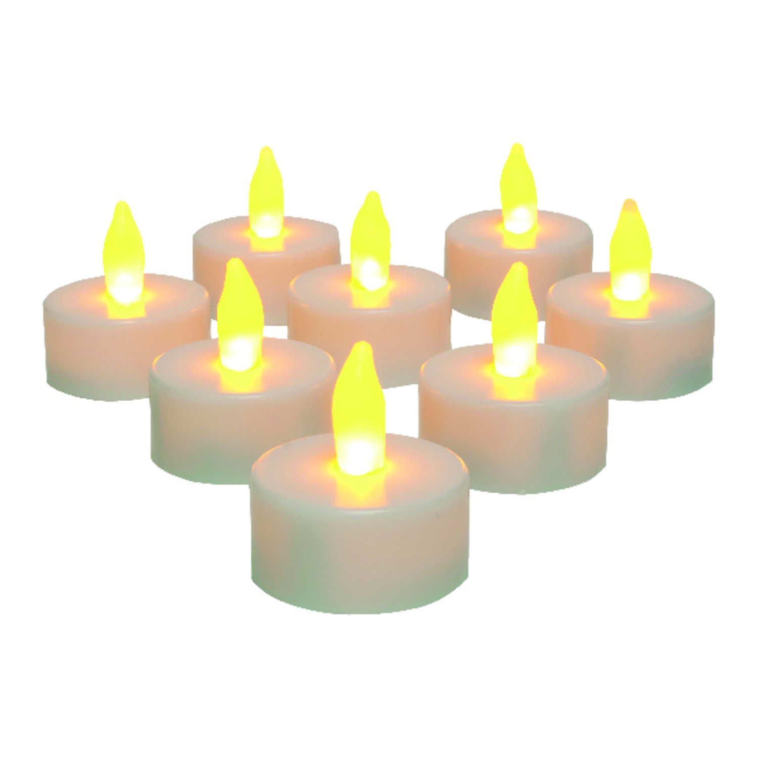 Inglow  White  Tealight  Candle  1-1/2 in. Dia.