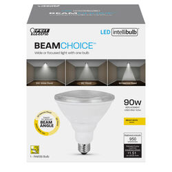 Feit Electric  Intellibulb BeamChoice  PAR38  E26 (Medium)  LED Bulb  Bright White  90 Watt Equivale