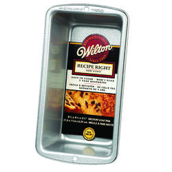 Wilton 4-1/2 in. W x 8-1/2 in. L Loaf Pan Silver