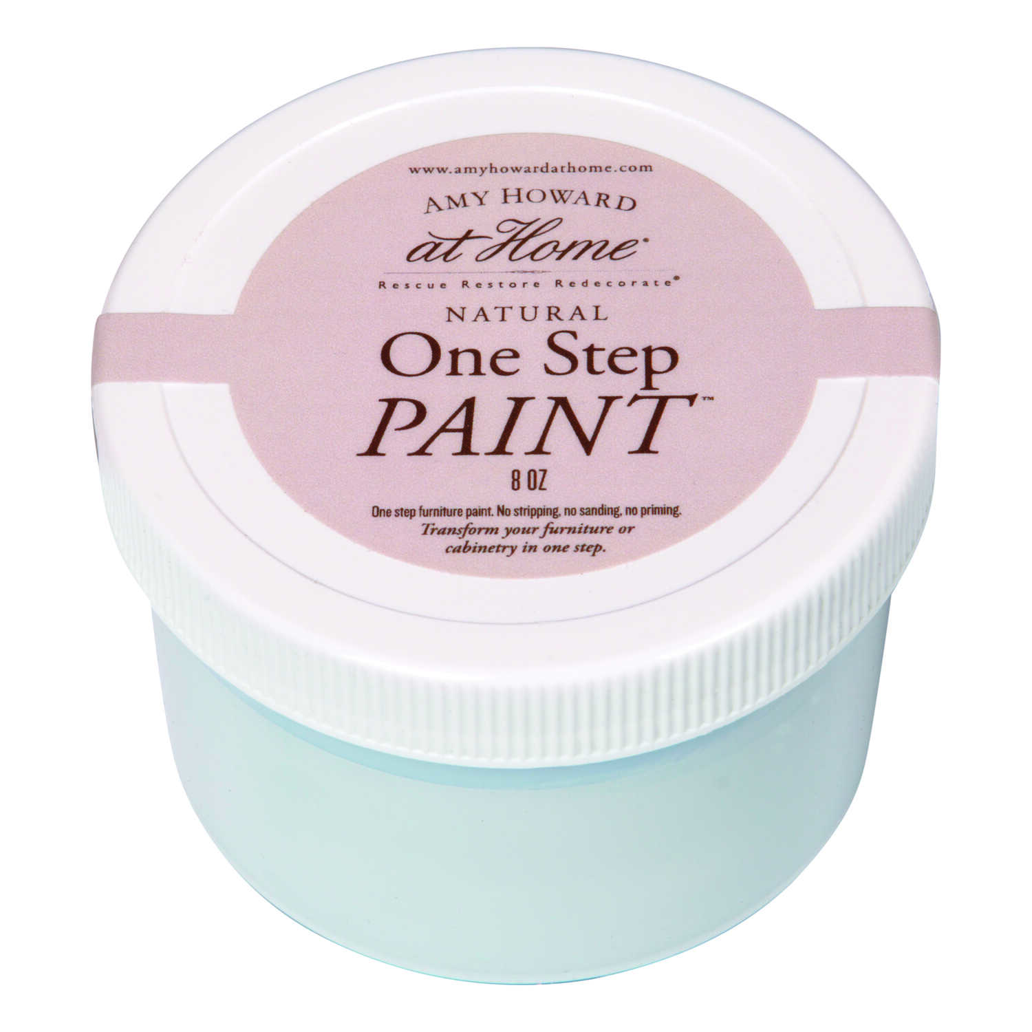 Amy Howard at Home  Flat Chalky Finish  French Blue  One Step Paint  8 oz.