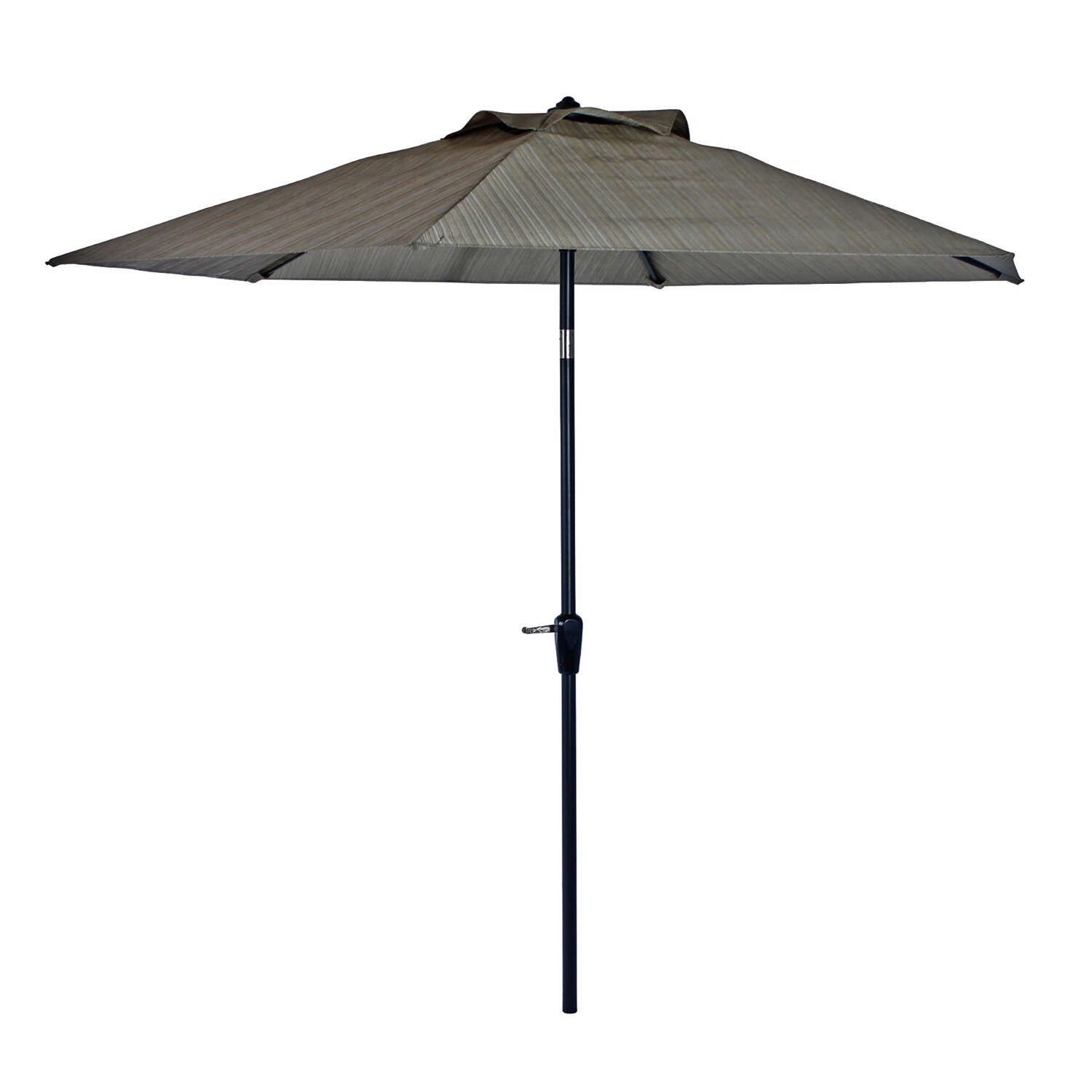 Living Accents Icarus 9 ft. Tiltable Brown Patio Umbrella
