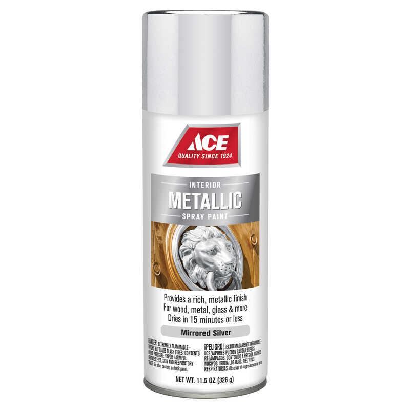 Ace Brilliant Silver Spray Paint 11 5 oz  - Ace Hardware