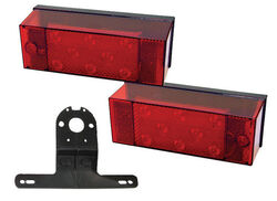 Peterson  Red  Rectangular  Trailer  Light Kit