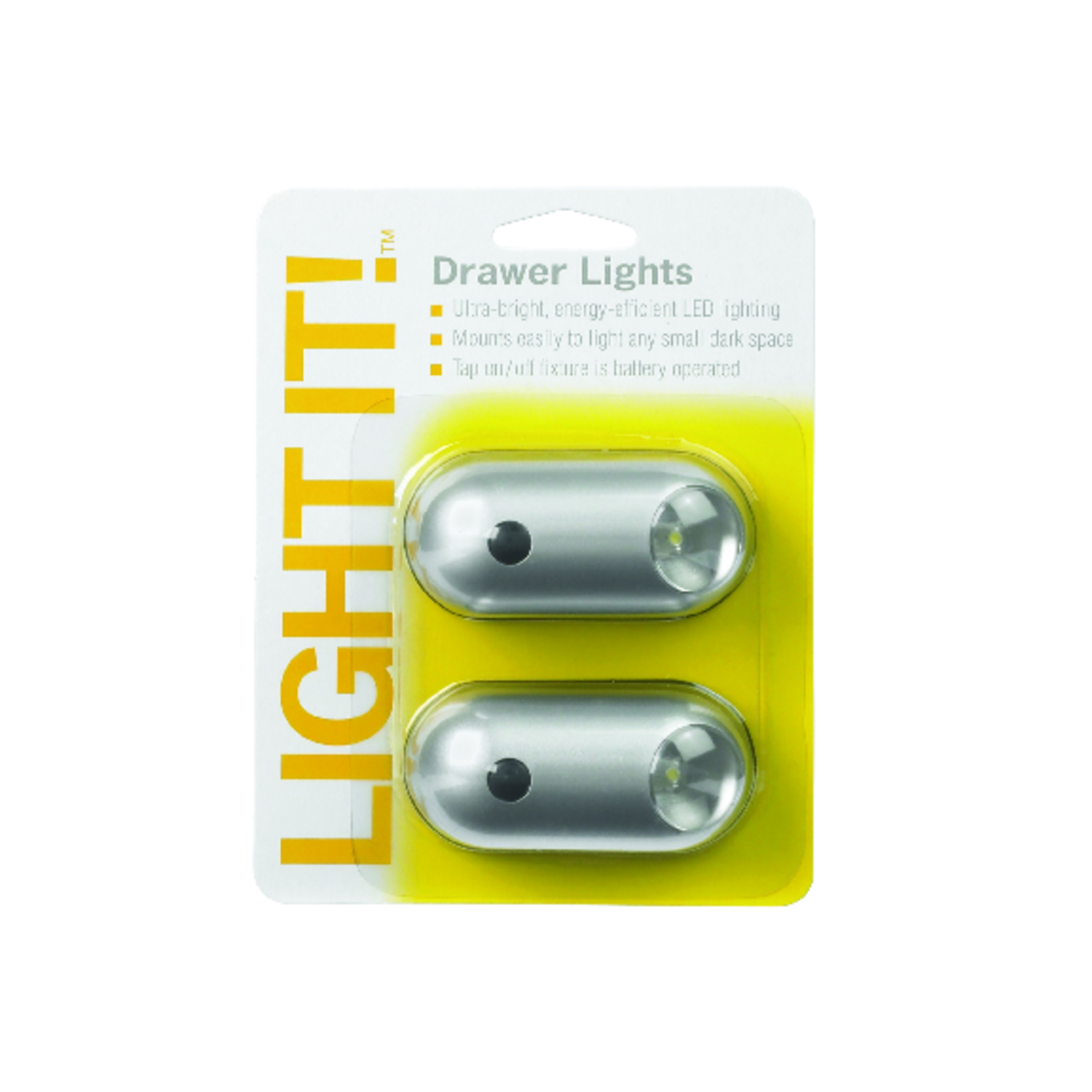 Fulcrum  LIGHT IT  Battery Powered  Tap Light  6 lumens