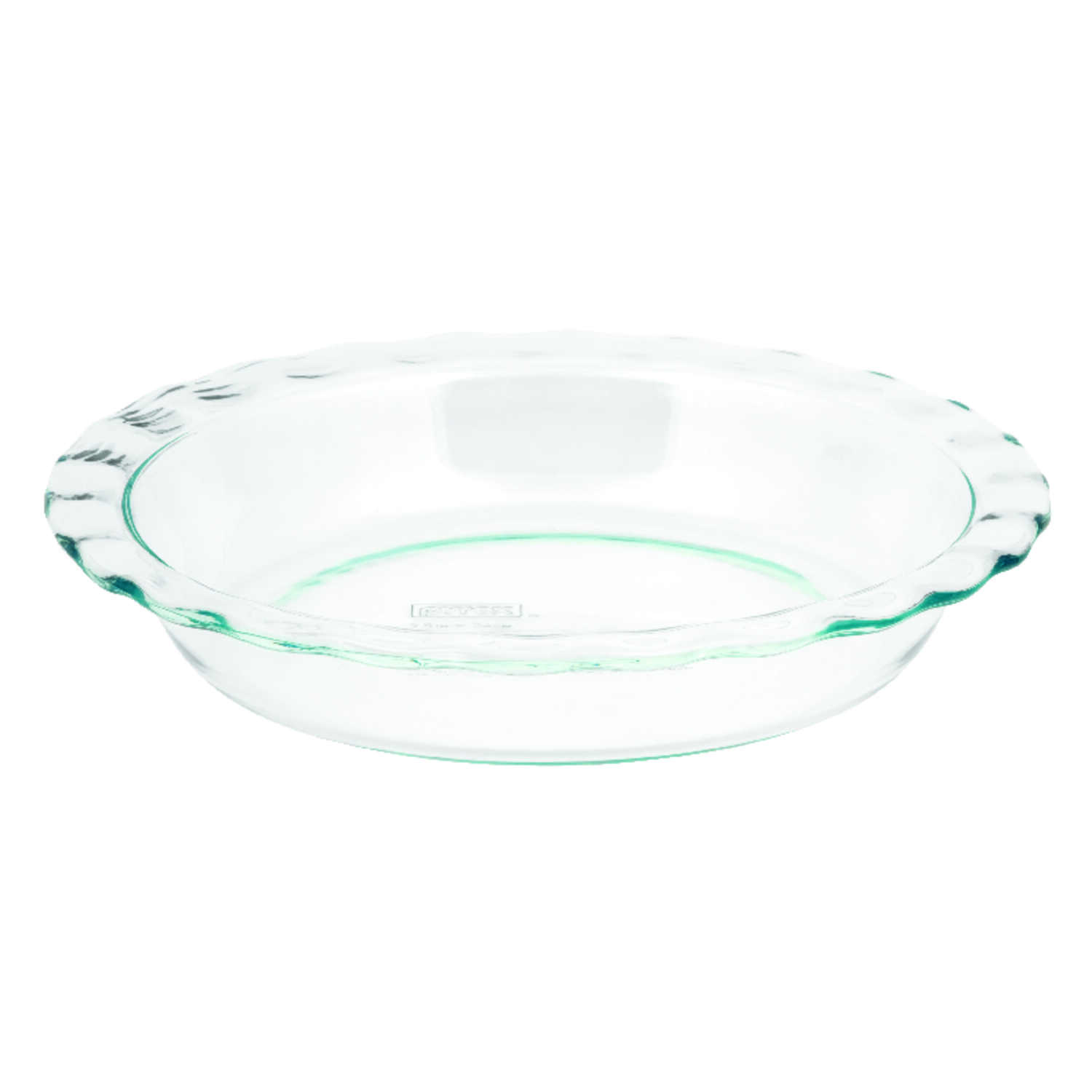 Pyrex  9.5 in. W x 9-1/2 in. L Pie Plate  Clear