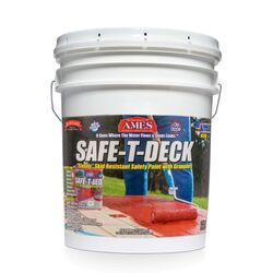 Ames Safe-T-Deck Semi-Gloss White Deep Tone Base Anti-slip Coating 5 gal.