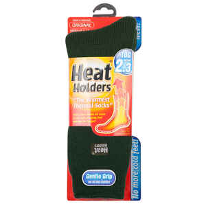 Heat Holders  Men's  Thermal Socks  Green