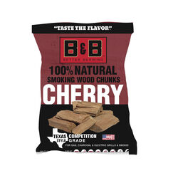B&B  Cherry  Wood Smoking Chunks  549 cu. in.