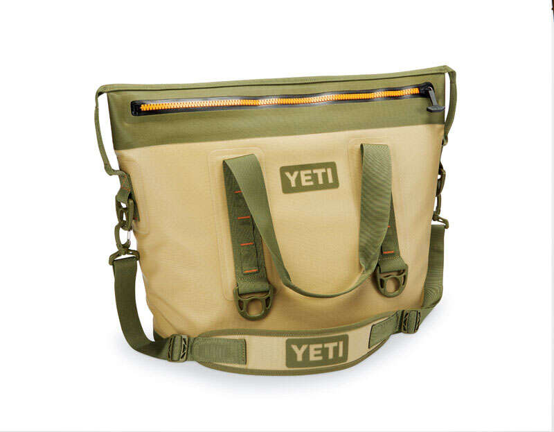 YETI  Hopper Two 30  Cooler Bag  24 can 1 pc. Tan