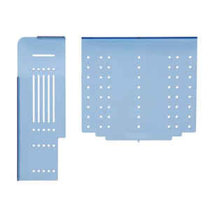 Amerock  9-1/4 in. L Blue  Plastic  Template