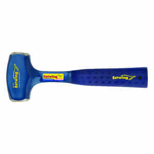 Estwing  3 lb. Forged Steel  Drilling Hammer  11 in. L x 1.5 in. Dia.