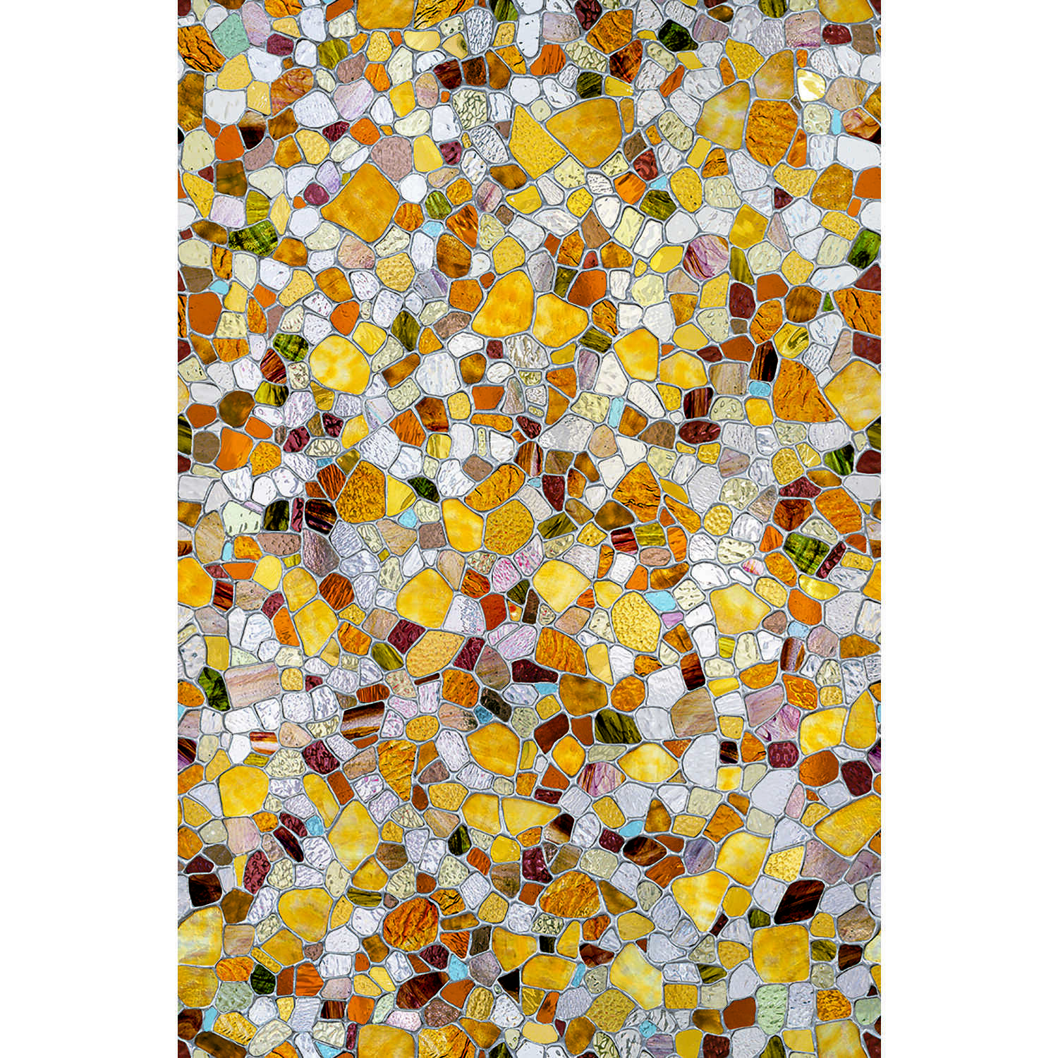 Artscape  Multi-color Textured  First Stained Glass 24 In. x 36 In.  Indoor  Window Film  24 in. W x