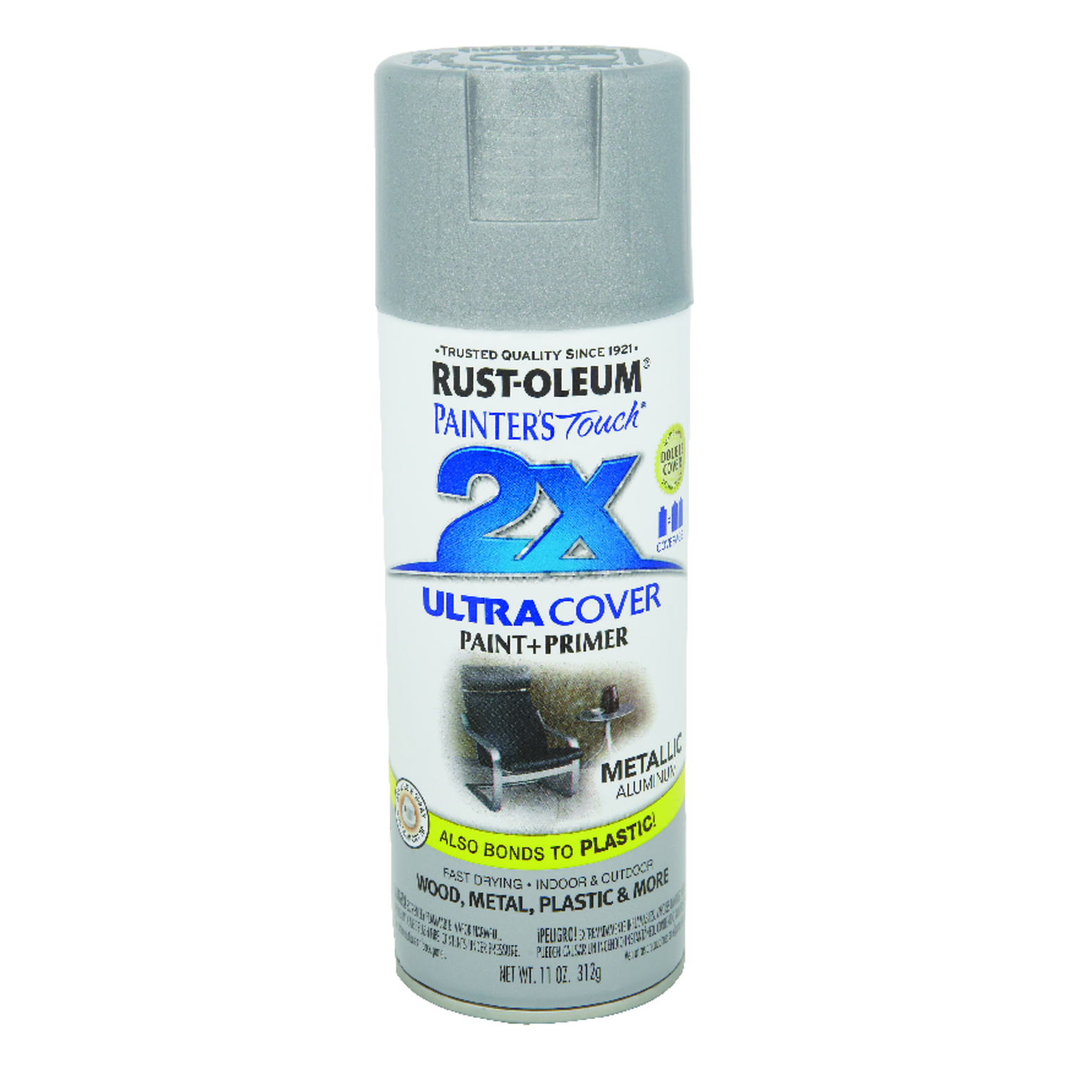 Rust-Oleum Painter\'s Touch Ultra Cover Satin Spray Paint 12 oz ...