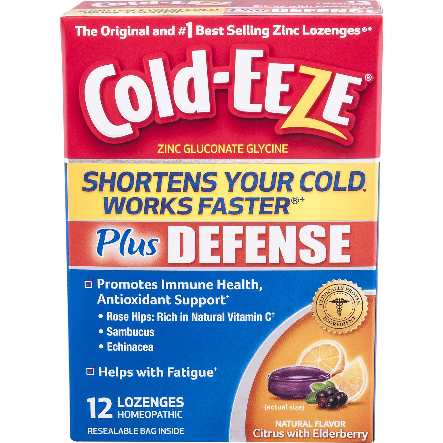 Cold-Eeze  Works Faster  Cold Remedy Lozenges