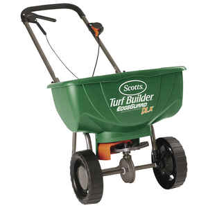 Scotts  Deluxe EdgeGuard  Push  Spreader  For Fertilizer
